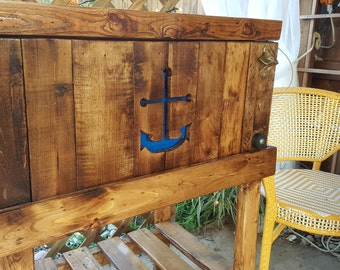 Nautical Deck Cooler