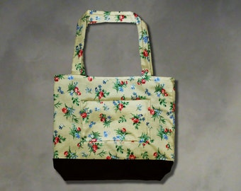 Large Totes Beach Bag - Handmade Tote Bag for Summer
