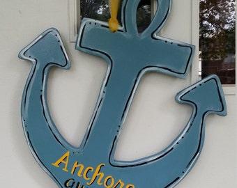 Anchors Away door hang