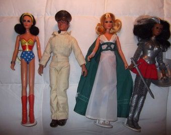 "The ""Mego Wonder Woman Doll Collection"""