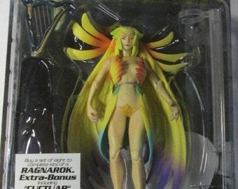 ArtFX Final Fantasy VIII Action Figure Guardian Force Siren with Cactuar MOC old Store Stock