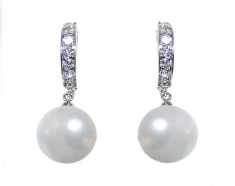 Glamour Drop Pearl Earrings, bridal ear rings, prom earrings, bridal accessories, bridal jewellery