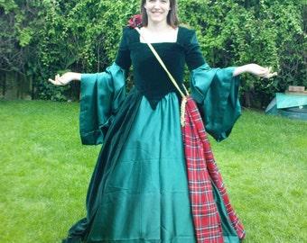 Costume renaissance tudor