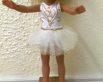 Clothes for 14 inch dolls. Ballerina dress for 14 inch doll, H4H