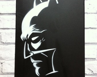 Batman inspired canvas!