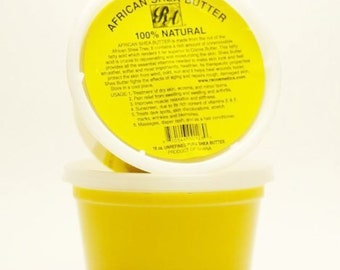 African Shea Butter 100% Natural - Yellow/White