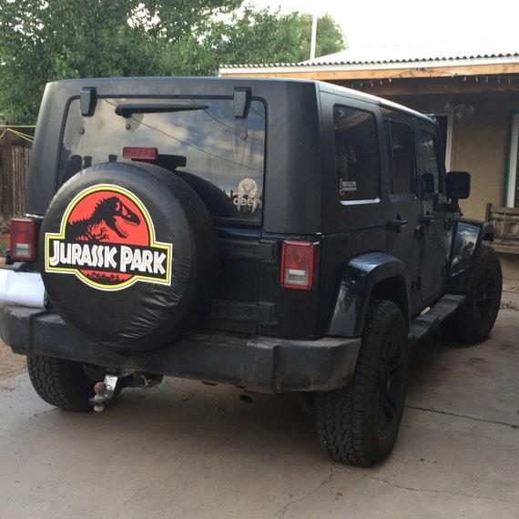 Jurassic Park Tire Cover