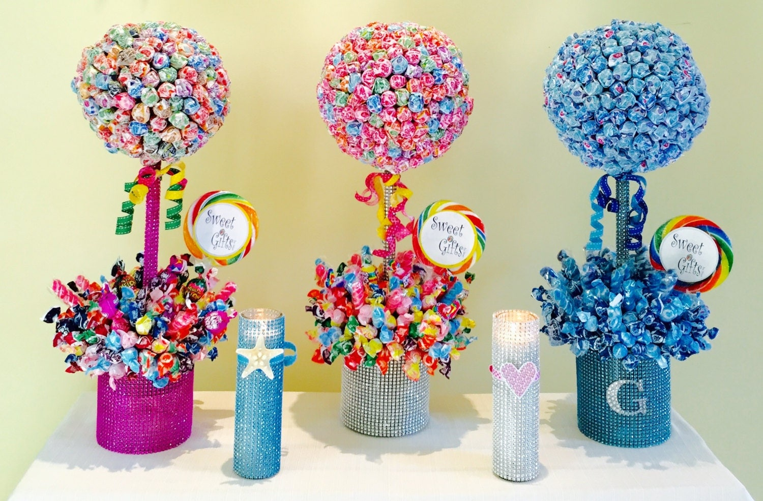 Candy Centerpiece Topiary Tree Candy Buffet By