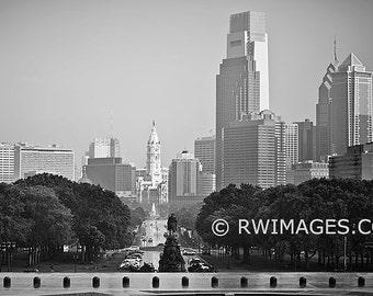 Philadelphia Fine Art Photography Black and White Photo Print (Unframed, Canvas, Framed, Metal or Acrylic)