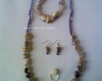 Lavender Rock Set