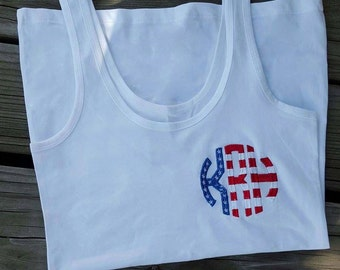Personalized Patriotic Tank