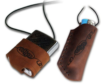 Handmade Leather Lighter Pouch