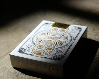 Muertos Mourning Gold Deck - Day of the Dead Playing cards