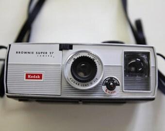 Kodak Brownie Super 27 Vintage Camera