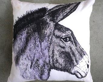 Donkey cushion 40 x 40 cm