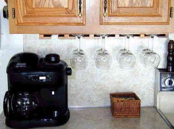 Wine Glass Rack 26 Inches Long