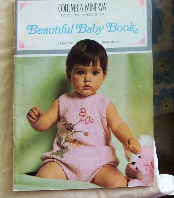 Vintage Baby Knitting Pattern Books : Vintage 1960 Knitting Pattern Book Beautiful by ...