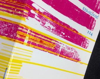 Kerbloom letterpress zine 114