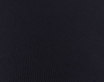 "1 yd Black Tricot - 120"" wide (TRIB-1)"