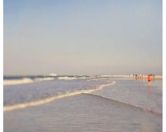 Beach Photograph - Nature Photograph - Original Fine Art - Water Photography - Florida Art - Purple Haze 2 - Landscape - Seashore - Seaside