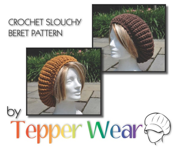 Crochet Pattern for my Slouchy Beret