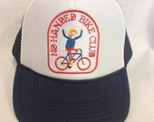 Youth Trucker Hat-with Bicycle Patch