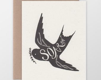 Soar On Greeting Card
