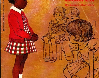 What Mary Jo Shared - Janice May Udry - Eleanor Mill - 1966 - Vintage Kids Book