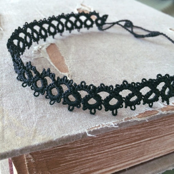 https://www.etsy.com/listing/238931563/tatted-lace-choker-necklace-classic?