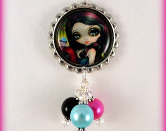 "Jasmine Becket Griffith  "" Sweet Dreamers ""  necklace"