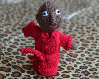 Titus Andromedon style finger puppet