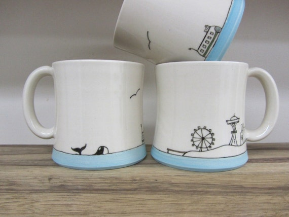 Seattle Seascape Mug