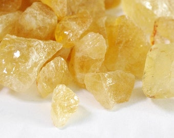 """Medium Raw Citrine Nuggets (1/2"""" to 2"""") - Approx 185g Rough Citrine, Citrine Nuggets, Healing Stone, Loose Stones"""