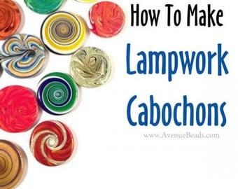 Lampwork Cabochon Tutorial - PDF