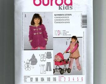 Burda Kids Corrdinates  Pattern 9538