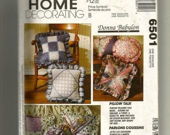 McCall's Novelty Pillows Pattern 6501