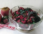 Christmas Potpourri , Christmas Bowl Filler, Christmas Decoration, Christmas fragrance, Room Scent Potpourri, red and green potpourri
