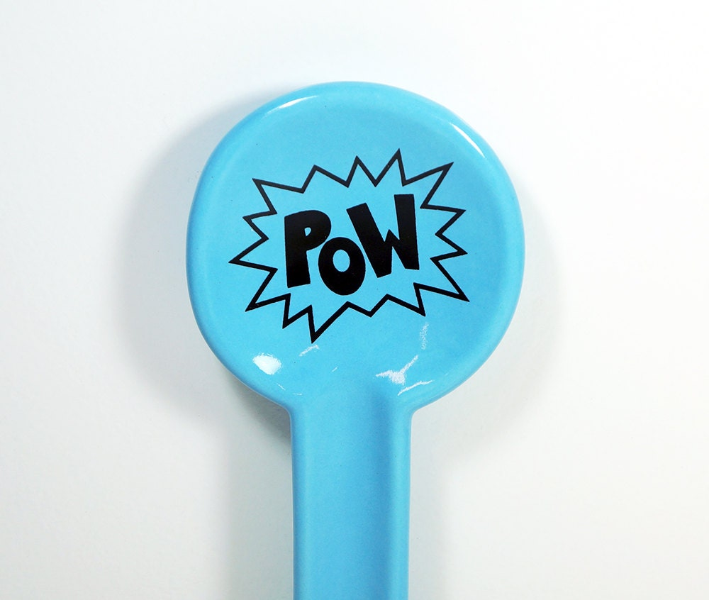spoon rest POW  - Made to Order / Pick Your Colour