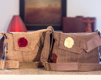 Classic Messenger Bag  MADE TO ORDER