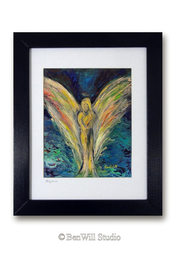Angel Artwork Inner Reflection Vision of Angels by artist BenWill