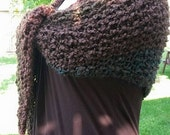PDF Knitting PATTERN for Woodland Shawl Immediate Download