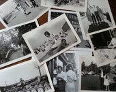 Italy. Ten Vintage B/W Photos.