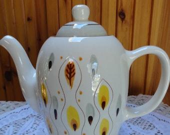 Large Decorative Stangl Ceramic Tea Pot