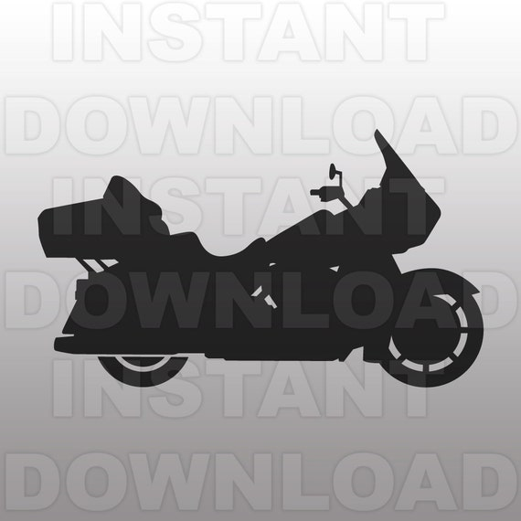 Harley Davidson Svg Motorcycle Svg File Vector Art