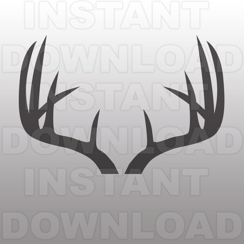 Clip Art Antler Clip Art antler clip art etsy deer antlers svg file cutting template silhouette for commercial and personal use cricut scal cameo sizzix pazzles vinyl