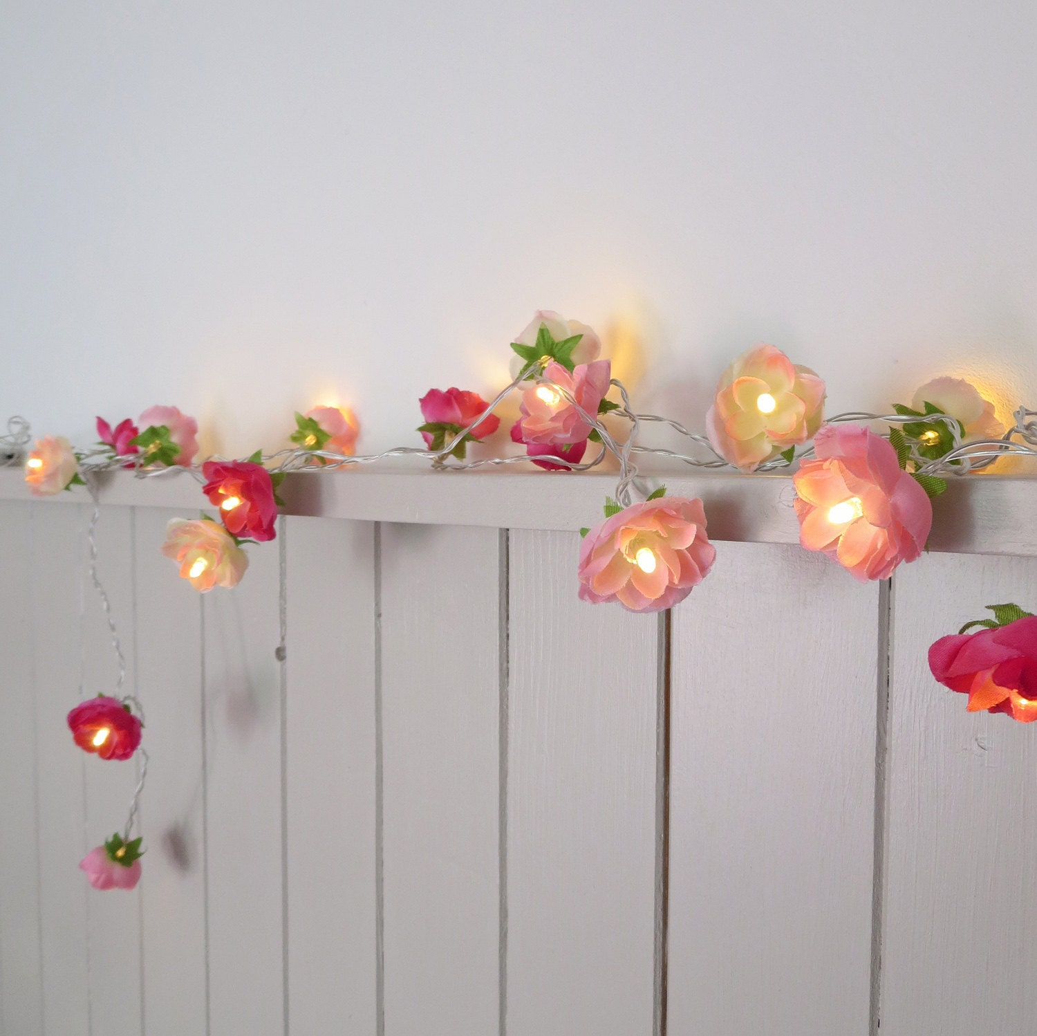 Pink Flower String Lights 28 Images 20 Bulbs Sweet Pink Flower