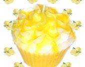 Lemon Pound Cake Cupcake Candle Bakery Fruit Scent