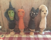 Primitive Halloween Spoolies