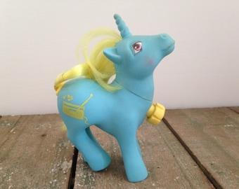My little pony unicorn boombox vintage doll