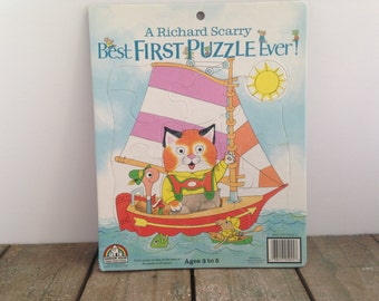 Richard Scarry Tray Puzzle